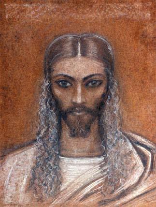 С.Н.Рерих. Иисус Христос. 1960-е.